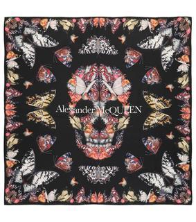 alexander mcqueen - Seidentuch Butterfly Decay