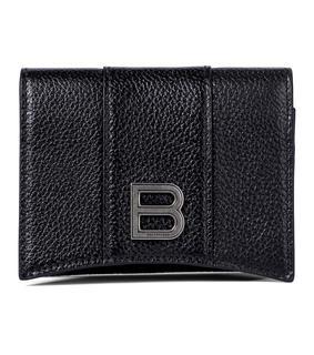 balenciaga - Portemonnaie Hourglass aus Leder