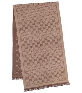 Gucci - Schal GG aus Woll-Jacquard