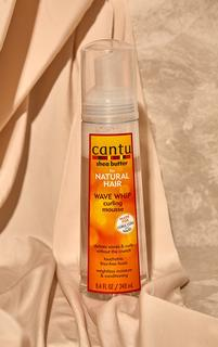 PrettyLittleThing - Cantu Shea Butter For Natural Hair Wave Whip Curling Mousse 248ml, Orange