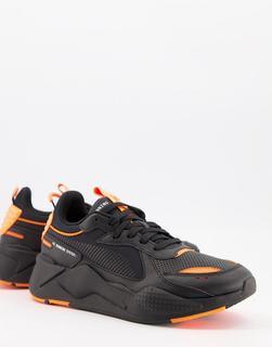 puma - RS-X Winterized– Sneaker in Schwarz und Orange