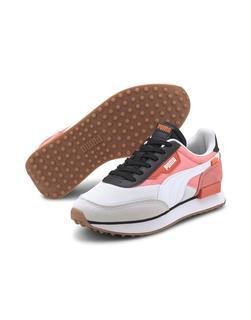puma - Future Rider – Sneaker in Weiß in Rosa