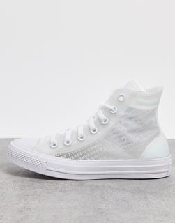 CONVERSE - Chuck Taylor – Sneaker mit durchsichtigem Design-Weiß