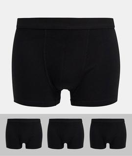 New Look - Schwarze Unterhosen im 3er-Set
