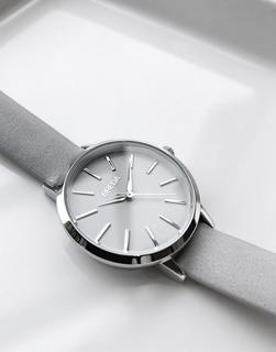 Breda - Joule – Kleine Uhr mit Armband in Grau