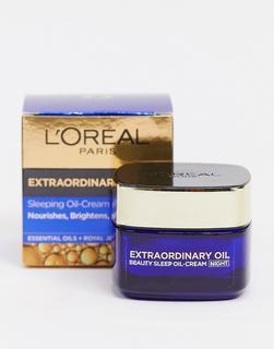 Loreal - L'Oreal Paris – Extraordinary Oil – Nährende Nachtcreme-Keine Farbe