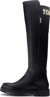 Tommy Jeans - Stiefel Double Detail in schwarz, Stiefel für Damen