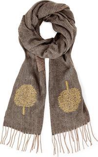 COX - Fransen Schal in mittelbraun, Tücher & Schals für Damen