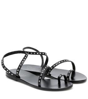 Ancient Greek Sandals - Sandalen Apli Eleftheria aus Leder