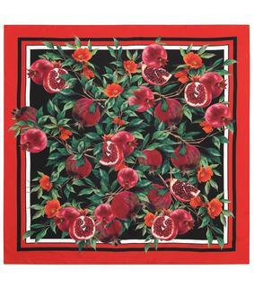 Dolce & Gabbana - Exklusiv bei Mytheresa – Tuch aus Seiden-Twill
