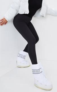 PrettyLittleThing - Moon Boot White Classic, White