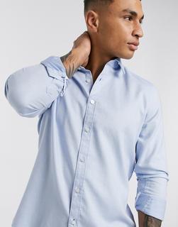 Boss - Lukas – Langärmliges Hemd-Blau