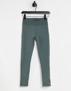ASOS 4505 - Formende Leggings mit Rippenmuster-Grau
