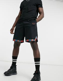 Nike Basketball - DNA – Schwarze Shorts