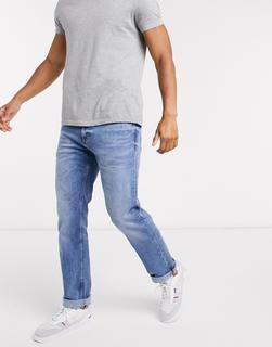 Calvin Klein Jeans - Gerade geschnittene Jeans in Hellblau