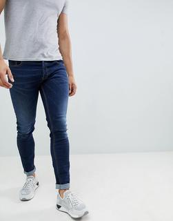Diesel - Sleenker – Skinny-Jeans in 084RI-Blau