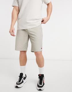 Tommy Jeans - Basketballshorts aus Nylon in Stein-Grau