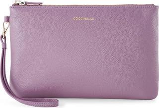 coccinelle - Clutch New Best Soft in dunkellila, Clutches & Abendtaschen für Damen