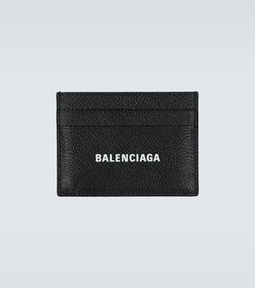 balenciaga - Kartenetui aus Leder