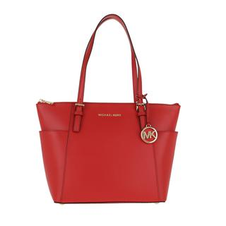 MICHAEL KORS - Tote - Jet Set Item EW TZ Tote Bright Red - in rot - für Damen - 274.00 €