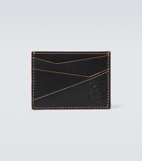 Loewe - Kartenetui Puzzle aus Leder