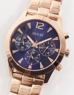 guess - Goldfarbene Armbanduhr