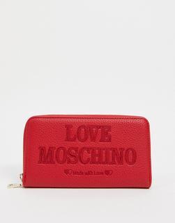 Love Moschino - Essential – Geldbörse in Rot