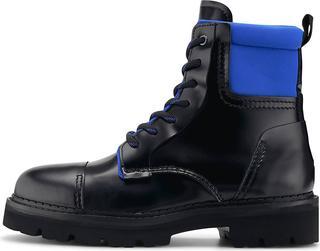 Tommy Jeans - Schnürboot Fashion Pop Colour Boot in schwarz, Boots für Herren