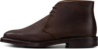 Crockett & Jones - Luxus-Stiefel Molton in dunkelbraun, Business-Schuhe für Herren