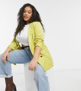Vero Moda - Curve – Blazer in Gelb
