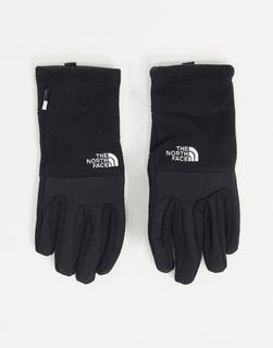 THE NORTH FACE - Denali Etip – Schwarze Handschuhe