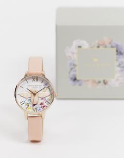 Olivia Burton - Enchanted Garden – Armbanduhr-Rosa