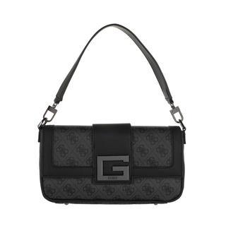 guess - Umhängetasche - Brightside Shoulder Bag Coal - in grau - für Damen