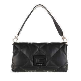 guess - Umhängetasche - Brightside Shoulder Bag Black - in schwarz - für Damen