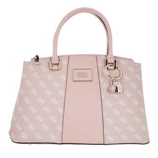 guess - Tote - Tyren Status Satchel Bag Blush - in rosa - für Damen