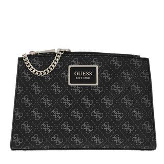 guess - Umhängetasche - Tyren Status Crossbody Bag Coal - in schwarz - für Damen