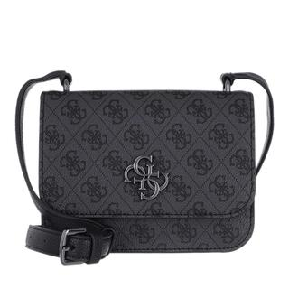 guess - Umhängetasche - Noelle Mini Crossboy Bag Coal - in grau - für Damen