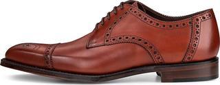 Loake - Derby-Schnürer Derwant in mittelbraun, Business-Schuhe für Herren