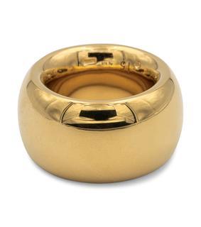 Bottega Veneta - Vergoldeter Ring aus Sterlingsilber