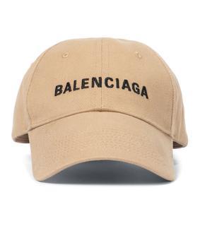 balenciaga - Baseballcap aus Baumwolle