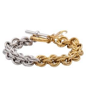 JW Anderson - Vergoldetes Armband aus Messing