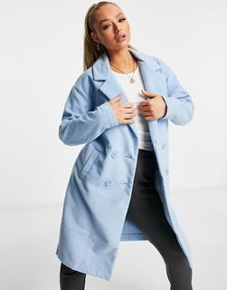 Threadbare - Mantel in Dämmerung-Blau