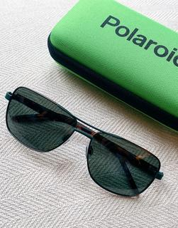 Polaroid - Fliegersonnenbrille-Schwarz