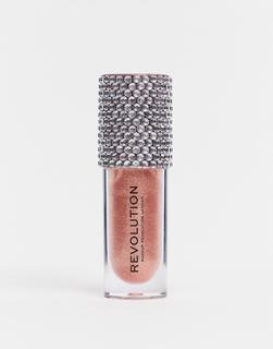 Revolution - Precious Glamour Bling Gloss Bomb – Luxuriöser Sternenlicht-Gold
