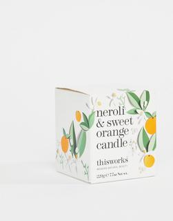 This Works - Neroli & Sweet Orange Candle 220 g-Keine Farbe