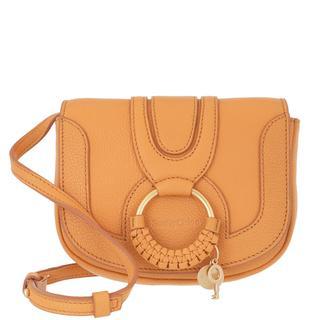 See by Chloé - Umhängetasche - Mini Hana Shoulder Bag Leather Blushy Pink - in orange - für Damen