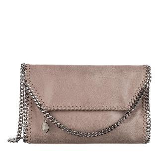 Stella Mccartney - Umhängetasche - Falabella Shaggy Deer Mini Shoulder Bag Smoke - in grau - für Damen