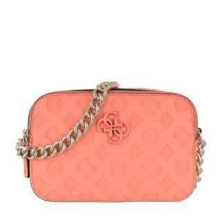 guess - Umhängetasche - Noelle Camera Bag Coral - in orange - für Damen