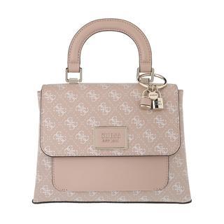 guess - Satchel Bag - Tyren Top Flap Handle Bag Blush - in rosa - für Damen