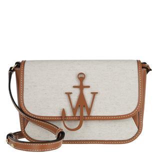 JW Anderson - Umhängetasche - Braided Midi Anchor Crossbody Bag Calico - in braun - für Damen